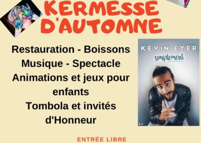 invitation kermesse